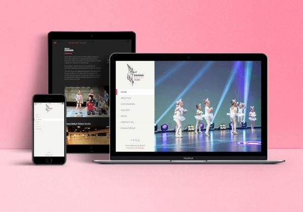 Enana Ballet Dubai – Website